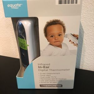 Equate Infrared In-Ear Digital Thermometer